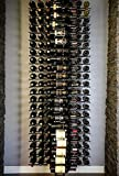 ULTRA WINE RACKS 4-WAY FLOOR-TO-CEILING (Black Satin)