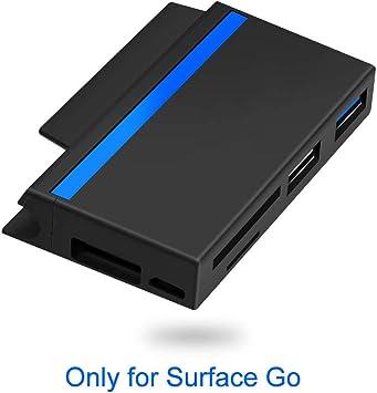 Surkit Surface Go Docking, Lector de Tarjetas SD/Micro SD y 2 ...