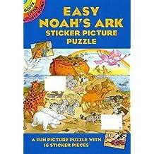 Easy Noah's Ark Sticker Picture Puzzle