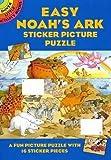 Easy Noah's Ark Sticker Picture Puzzle (Dover Little Activity Books)