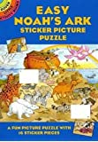 Easy Noah's Ark Sticker Picture Puzzle (Dover Little Activity Books)
