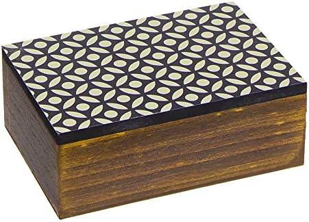 Home Gadgets Caja Rectangular Madera Africa 15 cm: Amazon.es: Hogar
