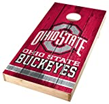 corn hole ohio state - PROLINE NCAA College 2'X4' Ohio State Buckeyes Single Cornhole Board with 4 Bags - Vintage Design