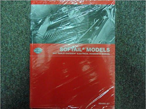 2007 Harley Davidson Softail Models Factory Service Manual