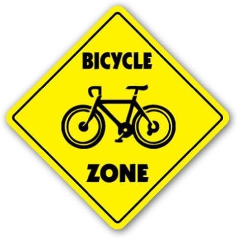 AdriK Cartel de Regalo para Bicicleta con Texto en inglés «Bike ...