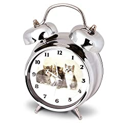 Launch Innovative Products Kate Kitten/Cat Alarm Clock with Meowing Sound