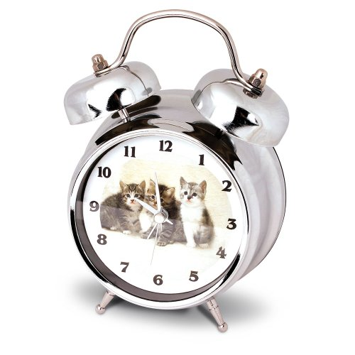 Launch Innovative Products Kate Kitten/Cat Alarm Clock with Meowing Sound by Launch Innovative Products