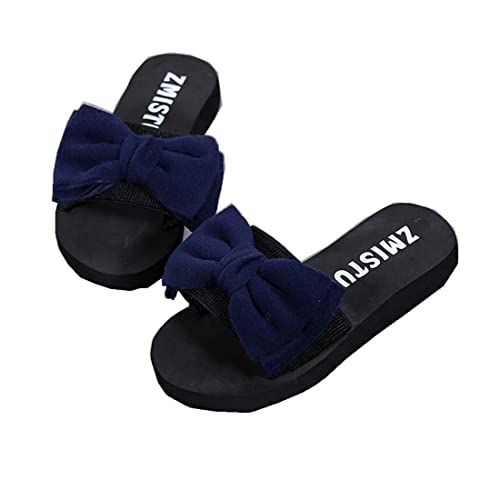 036c7ad43a06c Longra 2018 Women's Summer Sandals,Spring Flat Shoes Bead Bow Slippers  Casual Indoor Outdoor Flip