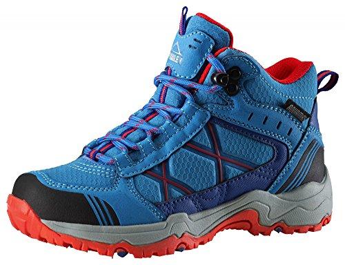 McKinley Multi de botas Kona MID II AQX Jr blue/ blue dark/ rot