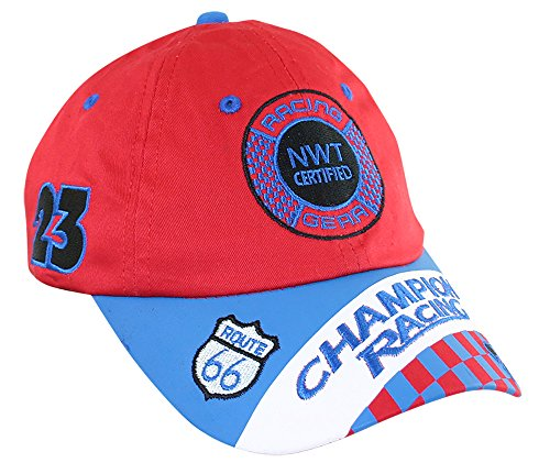 Aeromax Racing Cap Red and (Jr Champion Race Child Costumes)