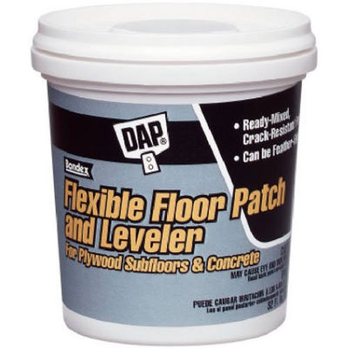 (DAP 59184 QT RTU FLR Leveler, Light Gray )
