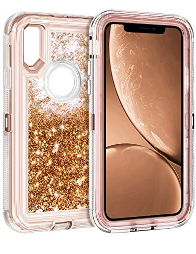 - Coolden Floating Glitter Case for iPhone XR (6.1