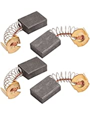 uxcell 2Pairs 16mmx13mmx6mm 153A Carbon Brushes Power Tool for Electric Hammer Drill Motor