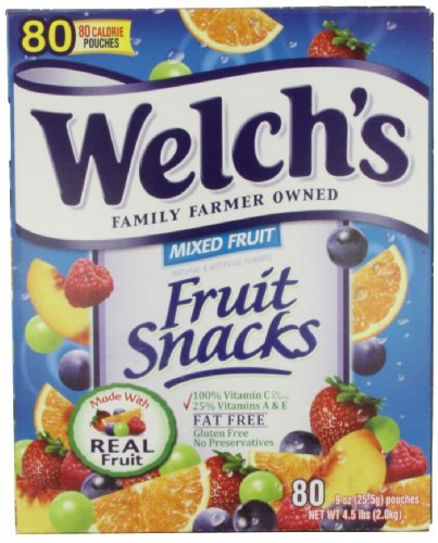 WELCH's Mixed Fruit Snacks, 80 -