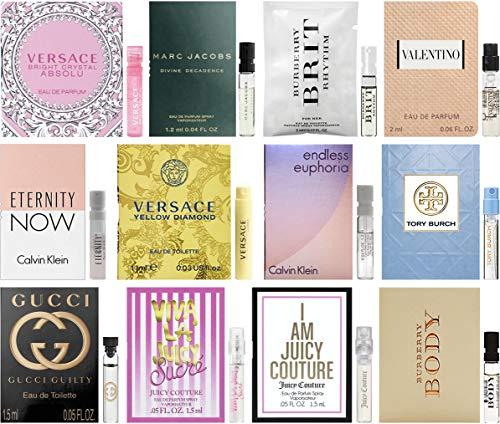 Designer Fragrance Samples for Women - Sampler Lot x 12 Perfume -