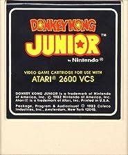 Donkey Kong Junior (Coleco) For Atari 2600 VCS