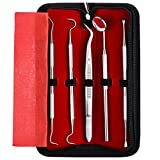 ElleSye Dental Hygiene Tool Set, Dental Tool Kit, 5-Piece