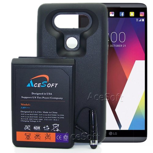 reputable site 2e318 e8e0d [LG V20 Extended Battery Case] High Capacity 10900mAh Replacement Extended  Battery Soft TPU Full Edge Protection Case for LG V20 H918 (Up to 3X Extra  ...