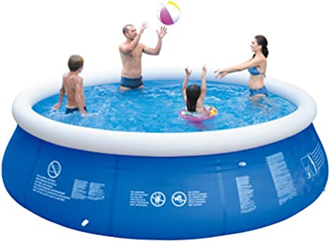 Aszx Inflatable Swimming Pool Summer Family Outdoor Easy Set Pool Anti Exposure Anti Crack Backyard Family Park Garden Water Pool For Children Adults 300cm76cm 118 1in29 9in Home Kitchen