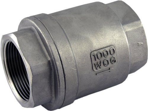 (304 Stainless Steel Vertical Check Valve 1-1/4