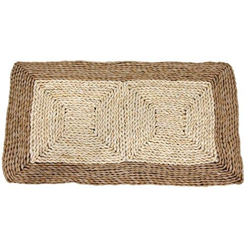 Oriental Furniture Rush Grass and Maize Rug