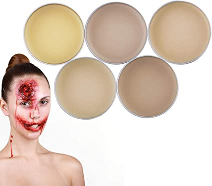 Cera Di Cicatrice Finta,Halloween Masquerade Professional Special Wound Scar Bleeding Effects,Trucco Modellazione Putty Wax Per Effetti Speciali Films #2