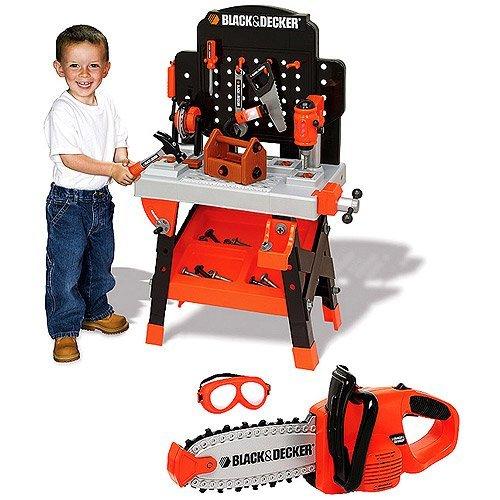 Strange Amazon Com Black Decker Power Tool Junior Workshop Toy Customarchery Wood Chair Design Ideas Customarcherynet