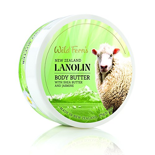 - Wild Ferns Lanolin Body Butter with Shea Butter and Jasmine