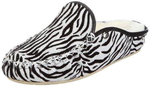 Hans Herrmann Collection hhc 025001-100 Zuecos De Ante, Mujer Negro (Zebra)