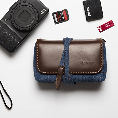 Compact Camera Case For Digital Cameras - Leather Point and Shoot Camera Case - Nikon, Canon, Sony, Olympus, Panasonic, Ricoh & More