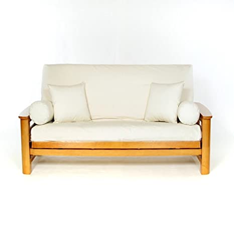 Stupendous Ls Covers Natural Full Futon Cover Full Size Fits 6 8In Mattress 54 X 75 Inch Alphanode Cool Chair Designs And Ideas Alphanodeonline