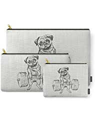 Society6 Pug Lift Carry-All Pouch
