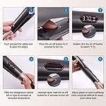 DigHealth-Piastra-Capelli-Curl-StraightDesign-2-in-1-LCD-Display-Semplice-ed-Intuitivo-con-Temperatura-da-150-230-GradiRiccio-ed-Lisci-Piastra-per-Capelli-in-Ceramica