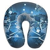 Owen Pullman Travel Pillow Information Technology Memory Foam Neck Pillow Comfortable U Shaped Neck Support Plane Pillow