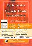 Kit de création pour Société Civile Immobilière (1Cédérom)