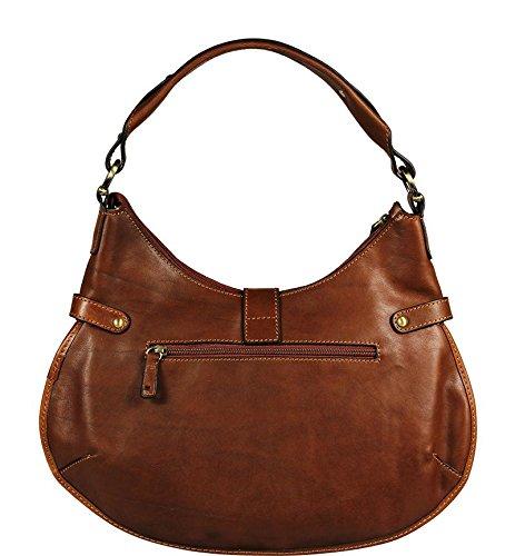 Neue Hand Tasche, Borsa a spalla donna marrone brown small