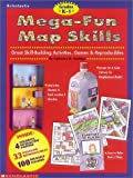 Mega-Fun Map Skills, Catherine Tamblyn, 0590187988