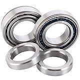 nissan titan wheels bearing rear - XiKe 2 Set Pack SET10 Rear Wheel Axle Bearing Set. Replace Timken SET10, Nissan 43070-7S200, 40210-7S210, Replace Nissan 2004-2015 Titan, Frontier, Xterra etc, U399 / U360L / K426898.