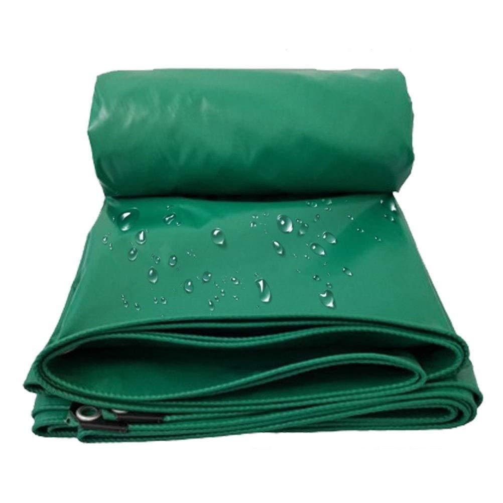 ZHANGGUOHUA BÂcheImperméable, Robuste  Couverture de Piscine avec Oeillets 6x8m, Tapis de Camping Vert (Couleur   vert, Taille   3x5m) vert 3x5m