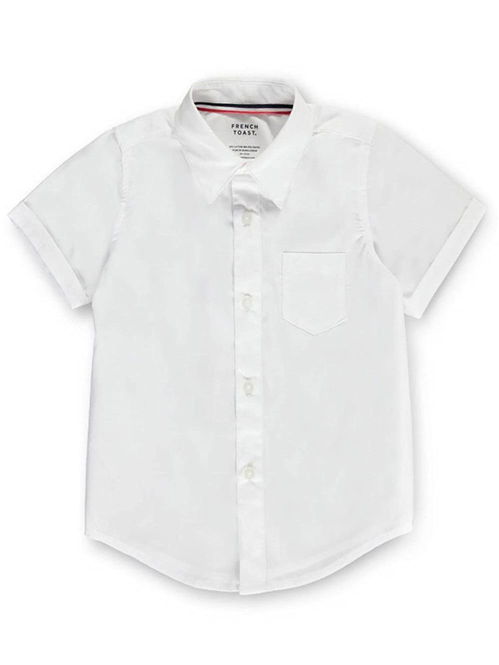 20 white French Toast Unisex S//S Button-Down Shirt
