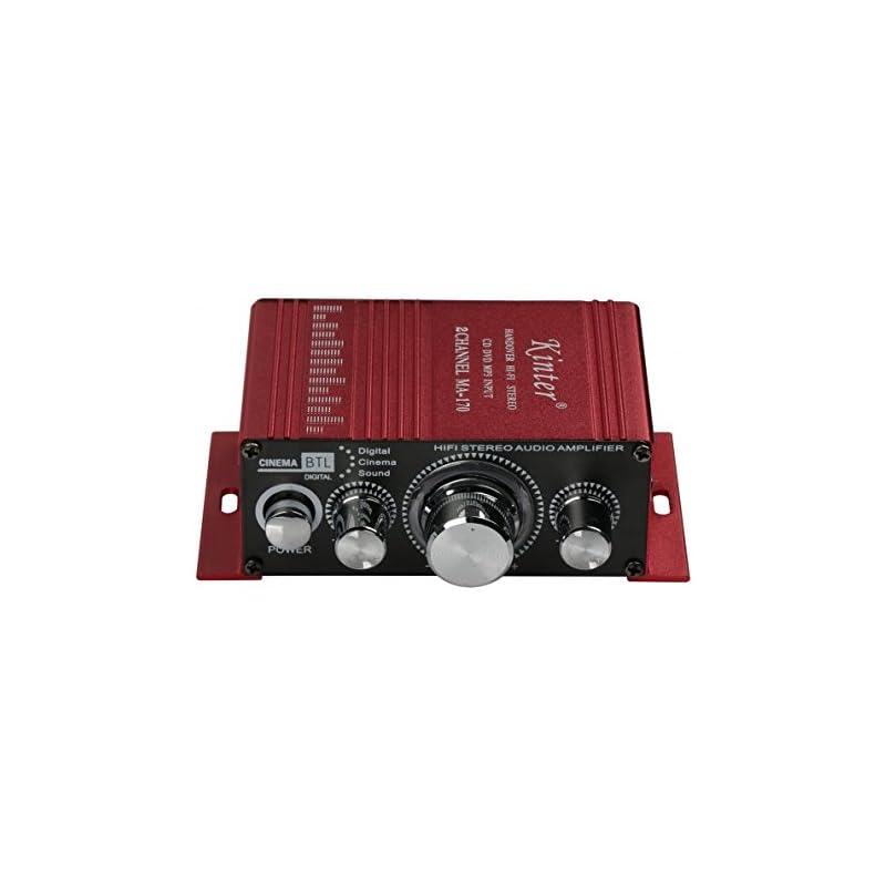 Kinter MA170 12V 2 Channel Mini Digital