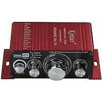 Kinter Ma17012V 2Canales Mini Amplificador de Potencia de Audio Digital para Coche o de MP3