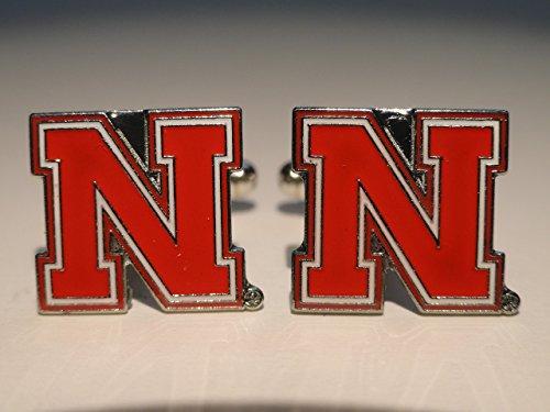 University of Nebraska Cufflinks--Authorized Cuff Links
