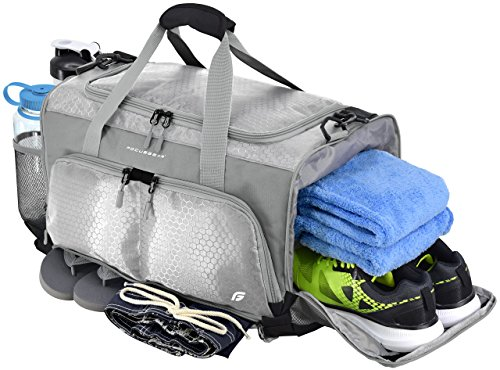 Ultimate Gym Bag: The Crowdsource Designed 20' Duffel by FocusGear