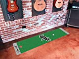 Fanmats Chicago White Sox Putting Mat - Chicago White Sox One Size
