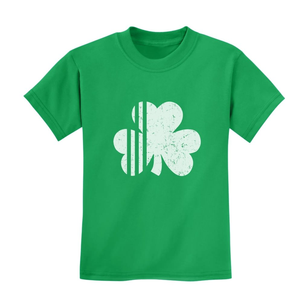 Saint Patrick S Day Irish Shamrock Cute Faded Clover T Shirt
