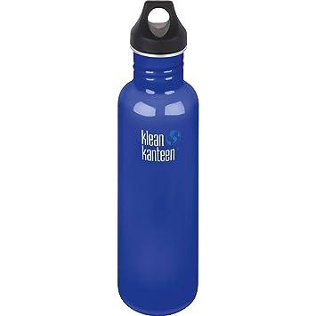 Botella de Klean Kanteen, de acero inoxidable, estilo clásico, con tapón Loop Cap