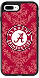 Alabama - Damask design on Black OtterBox Symmetry Case for iPhone 8 Plus