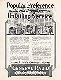 General Radio Experimenter Manuals 479 Editions M121