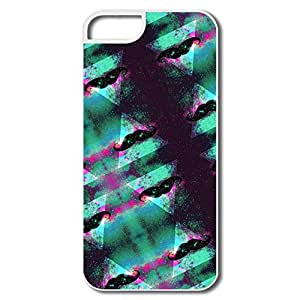 IPhone 5 5s Case Cover Night Sky Mustache,Design Your Own Cool Case For IPhone 5
